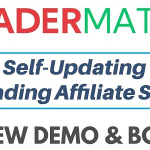 Tradermate Review Demo Bonus - Fully Automated Trading Affiliate Site Builder